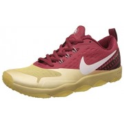 Nike Men's Air Zoom Flyware Maroon and Gold Running Shoes - 7 UK/India (41 EU)(8 US)(819803-007)
