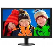 Philips 273V5LHAB/00, 27 inch LED, 1920 x 1080 Full HD, 16:9, HDMI, negru