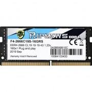 SODIMM DDR4 16GB Ripjaws 2666MHz CL19 1.2V -F4-2666C19S-16GRS (F4-2666C19S-16GRS)