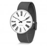 Arne Jacobsen Clocks Armbandsur Roman Vit/matt grå 40 mm Arne Jacobsen Clocks
