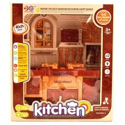 Rvold Play With Me Battery Operated Modern Comfort Kitchen Set for Kids