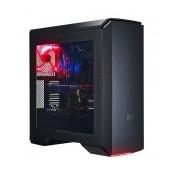 Gabinete Cooler Master MasterCase Pro 6 con Ventana LED Rojo, Midi-Tower, ATX,Micro-ATX/Mini-ITX, USB 3.0, sin Fuente, Negro