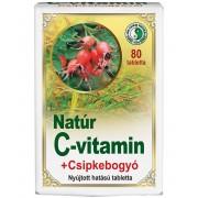 Dr. Chen Natúr C-vitamin Csipkebogyó kivonattal 80 db