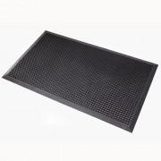 Schmutzfangmatte, rollstuhlgeeignet schwarz BxL 700 x 900 mm