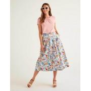 Boden Rosa Tilda Jersey-T-Shirt mit Rüschen Damen Boden, 38, Pink