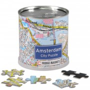 Puzzel City Puzzle Magnets Amsterdam | Extragoods