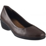 Mochi Classic Slip On Shoes For Women(Brown)
