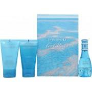 Davidoff Cool Water Set de Regalo 30ml EDT + 50ml Loción Corporal + 50ml Gel de Ducha