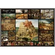 Puzzle Grafika - Pieter Bruegel: Collage - Pieter Bruegel the Elder, 1.000 piese (50742)