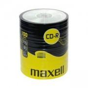 CD-R80 MAXELL, 700MB, 52x, 100 бр., ML-DC-CDR80-100SHR