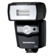 Olympus FL-600R Compact Camera Flash (Flash Compacto, Negro, 2.5 s, 0-90, 0-90)
