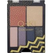 Q-KI Look Sharp Palette 4 x Eyeshadow + Highlighter + Blusher