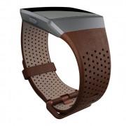 Fitbit Náhradní Řemínek Fitbit Ionic Leather Cognac L