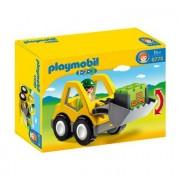 Playmobil ® 1 2 3 Graafmachine met werkman 6775