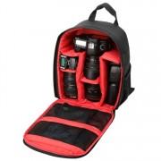 INDEPMAN DL-B012 fotós hátizsák GoPro, SJCAM, Nikon, Canon, Xiaomi Xiaoyi YI, Méret: 27.5 * 12.5 * 34 cm - PIROS