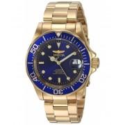 Invicta Watches Invicta Men's 8930 Pro Diver Collection Automatic Watch BlueGold