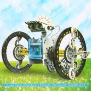 Szolár Robot 14 az 1 -ben napelemes építőkészlet