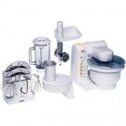 Robot de bucatarie Bosch, alb, 550 W, tocator de carne inclus, blender inclus MUM4655EU GARANTIE 2 ANI