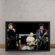 Quadro Decorativo Rolling Stones Foco Show 25x35