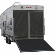 Classic Accessories TV Toy Hauler Adjustable Bug/Shade Tailgate Screen - Steel Frame, Model 79994, Gray