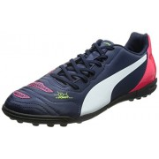 Puma Men's evoPOWER 4.2 TT Peacoat-White-Bright Plasma Running Shoes - 7 UK/India (40.5 EU)