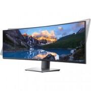 Dell LCD monitor Dell UltraSharp U4919DW, 124.5 cm (49 palec),5120 x 1440 px 8 ms, IPS LCD HDMI™, DisplayPort, USB-C™, USB