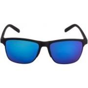 MR.KING Retro Square Sunglasses(Blue)