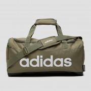 Adidas linear duffel sporttas small groen ONESIZE