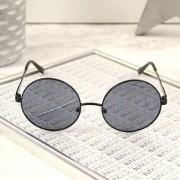 Big Star Okulary przeciwsłoneczne lenonki z etui Big Star Z74082