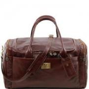 TUSCANY LEATHER Sac de Voyage Cuir Marron - Tuscany Leather -