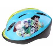 Disney kinderhelm met pads Toy Story 4 junior blauw 5 delig