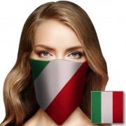 Merkloos Bandana Italie voor volwassenen