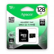Card APACER microSDXC 128GB Clasas 10 UHS-I U1 cu adaptor SD