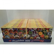 JIGSAW PUZZLE BUNDLE OF 18-BOXES PUZZLEBUG 300 300 PIECES PER BOX