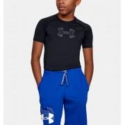 Under Armour Boys' HeatGear® Armour Short Sleeve Black YSM