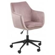 D2 Fotel biurowy Nora VIC różowy