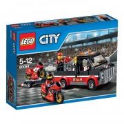 LEGO City racemotor transport 60084
