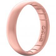 Enso Rings ENSO anneaux minces éléments Series Silicone bague - or Rose