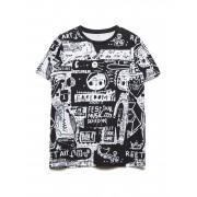 NAME IT Nkmbenjamin Ss Top T-shirts Short-sleeved T-shirts Svart NAME IT