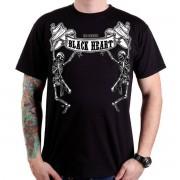 utcai póló férfi - Johnny And Mike - BLACK HEART - BH052