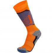 Nordica Ski Sock TECH Junior orange/dark blue