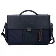 Piquadro Brief Maletín 41 cm compartimento Laptop Blue