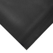 Černá gumová protiskluzová protiúnavová průmyslová rohož - 18,3 m x 90 cm x 1 cm (80000642) FLOMAT