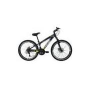 Bicicleta Tuff25 Freeride Aro 26 Freio A Disco 21 Velocidades Câmbios Shimano Preto - Vikingx