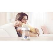 Biberon Chicco Natural Feeling plastic roz 150ml t.s. inclinata 0luni+ flux normal 0BPA