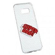 Husa pentru Samsung Galaxy S8 Plus Silicon Slim Super Dad 161