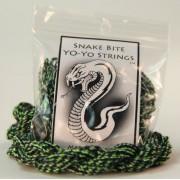 100 Pack Snake Bite String 100% Polyester Yo Yo Strings In Snake Skin Diamond Back