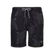 Shiwi-Zwembroeken-Men Swim Short Mantaray-Zwart