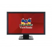 ViewSonic TD2421 Monitor Piatto per Pc 24'' Dual-Touch Multi Utente Nero
