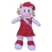Nexplora Industries Miss World Soft Plush Toy (51 CM) (RED)